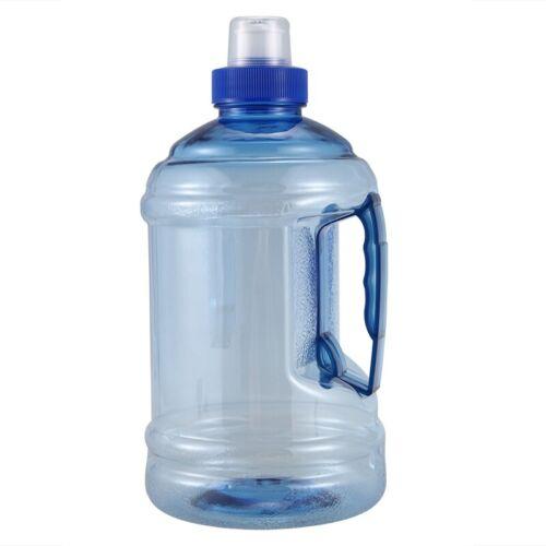 1L Big grande deporte gimnasio entrenamiento libre de BPA Fiesta Beber Botella de Agua Y1P5 Cap