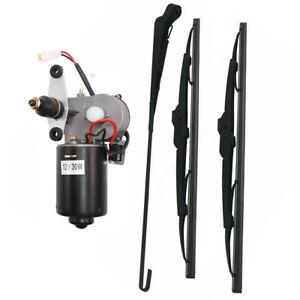 UTV-Electric-Windshield-Wiper-Motor-Kit-tank-for-Polaris-Ranger-RZR-900-US