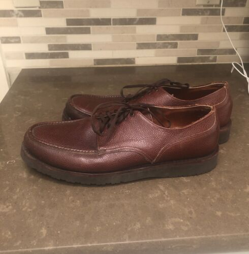 Russell Moccasin Brown Leather Premier Country Oxf