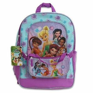 39d0ca5798b Image is loading Backpack-16-034-Detachable-Purse-Disney-Tinkerbell-amp-