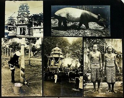 470 Images +/- Around The World Ss Resolute 1927 Usa 1927 High Quality And Low Overhead Photographic Album