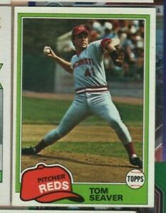1980 Topps Baseball - #220 Tom Seaver - Cincinnati Reds - nrmt condition