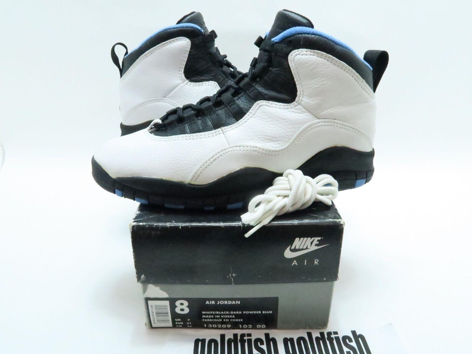 VNDS Nike Air Jordan Retro 4 IV Columbia 8 Legend Blue Size 8 Columbia 314254-107 OG ALL bd9cce