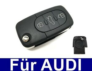 Fernbedienung CR16 Auto Klapp Schlüssel Gehäuse für AUDI A2 A3 A4 A6 TT S6