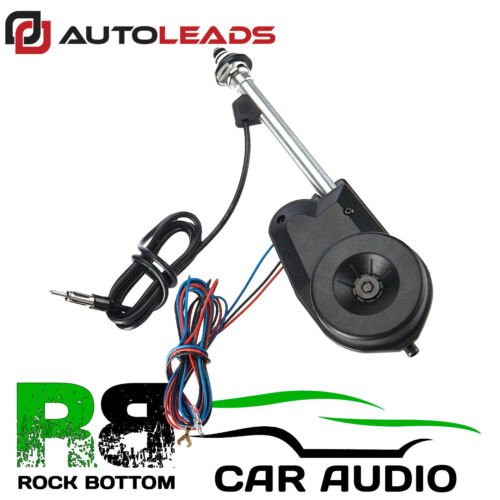 To Fit SUBARU 12V Universal Electric Automatic Wing Mount FM Car Aerial Antenna