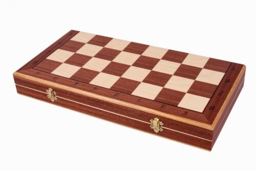 Brand New ♞ Hand Crafted Debiut Wooden Chess Set 50cm x 50cm ♔Weighted Pieces♛