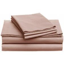 Camden Collection 350TC 100% Egyptian Cotton Single Ply Sheet Set Twin XL Blush