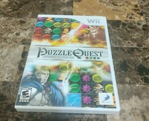 Puzzle Quest: Challenge of the Warlords (Nintendo Wii, 2007)