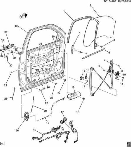 GM Flange Pan Head Torx Bolts W//Locktite Pack of 5 New OEM M6 X 1 X 17 11570218