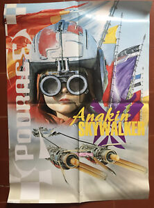 Affiche Anglaise Star Wars Anakin Skywalker Poorace 65x95cm