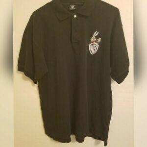 Men-039-s-Warner-Bros-Studio-Store-Bugs-Bunny-Polo-Shirt-Size-Large