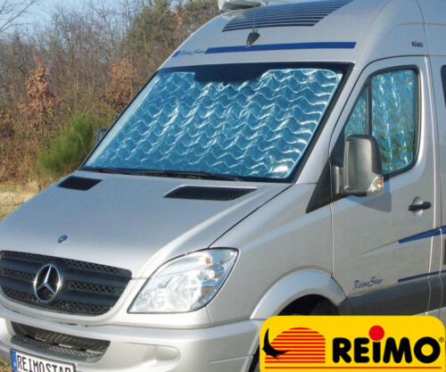 REIMO VW Crafter & Sprinter 2007+ Internal Thermal Silver Screens & Suction Cups