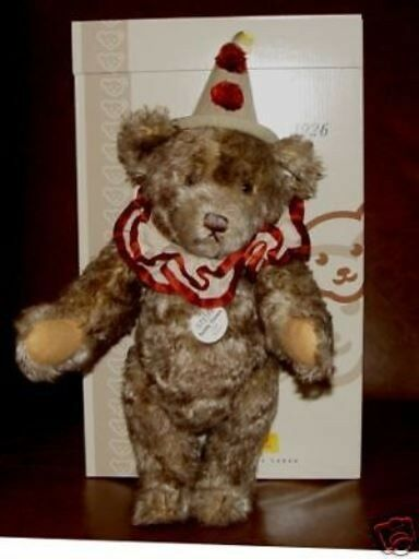STEIFF TEDDY CLOWN 1926 REPLICA  EAN404214