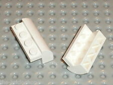 LEGO white Brick Curved Top ref 6081 / Set 10212 7264 7166 4999 6419 7659 6597..