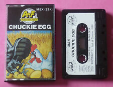 MSX - A&F CHUCKIE EGG 1986 *NEW!