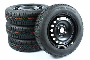 VW-UP-Seat-Mii-Skoda-Citigo-Stahl-14-034-Zoll-Winterraeder-Winterreifen-5x14-ET35