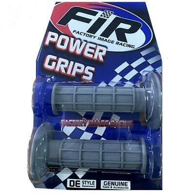 Grey FIR Grips With Twist Throttle Action to fit Raptor Quads