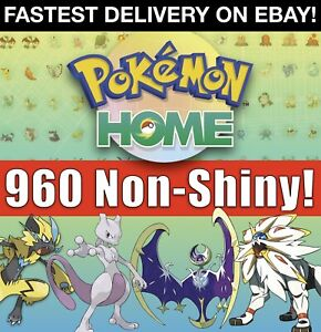 Pokemon-Home-All-807-NON-SHINY-Full-Living-Dex-Dittos-Legendaries-amp-Event-6IV