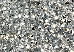 Silver-Wedding-Party-Table-Gems-Confetti-Decorations-Crystals-4-5mm-1-3-Carat