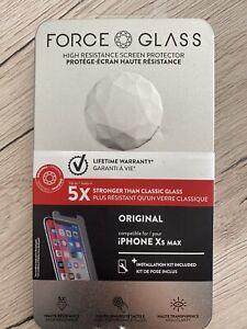 Force Glass Verre Trempé pour Apple iPhone XS Max - iPhone 11 Pro Max