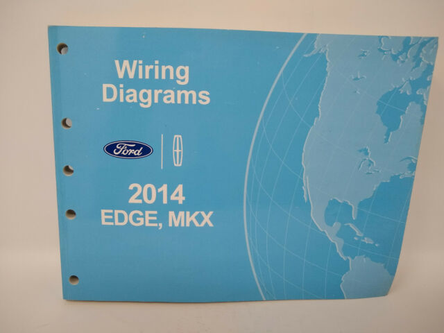 2009 Ford Edge Lincoln Mkx Electrical Wiring Diagram Manual Dealer Factory