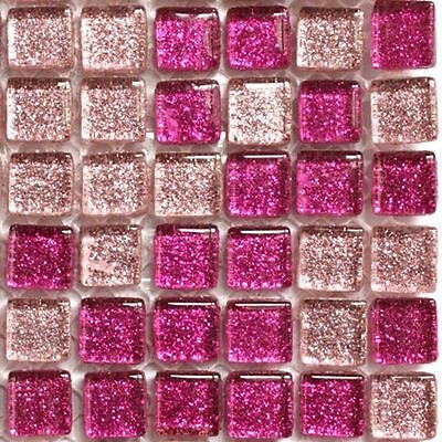 81 Mini Glitter 10mm Sparkling Crystal - Fuschia Magic