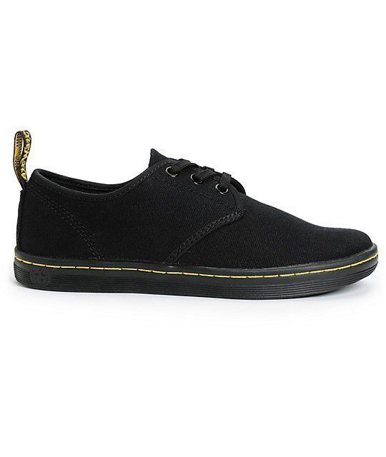 Nuevo Dr. Martens Soho Negro Negro Negro Lona Zapatos EE. UU. para mujer 6  calidad garantizada