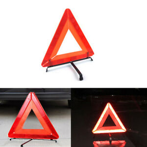 Image Is Loading Foldable Warning Triangle Car Emergency Sign Reflective Safety