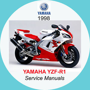 yamaha yzf r1 1998 1999 service manual a3 ebay. Black Bedroom Furniture Sets. Home Design Ideas