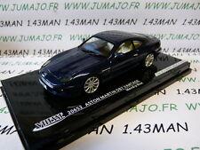 voiture 1/43 VITESSE : ASTON MARTIN DB7 vantage bleue