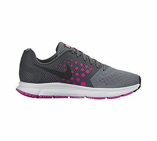BRAND NEW IN BOX WOMENS NIKE ZOOM SPAN SHOES GRAY BLACK PINK 852450 002 SIZE 6.5
