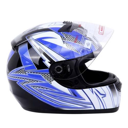 Ridgeyard L DOT Full Face Flip Up Motorcycle Motorcross Street Bike Helmet Adult