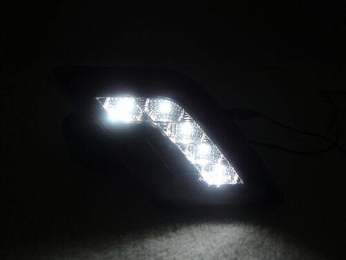 DEPO NO ERROR White LED Smoke Bumper Side Marker Light For 08-11 W204 C Class