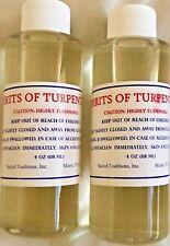 2 Bottles of 100 Pure Gum Spirits of Turpentine (organic) by Diamond