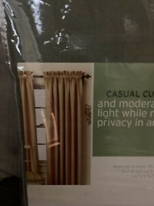 Pair Of Martha Stewart Curtains 55x84 Faux Suede Htf New Never Used Kmart 28967058551 Ebay