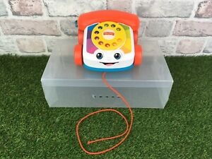 Childrens-FISHER-PRICE-Classic-Pull-Along-Telephone-2015-By-Mattel