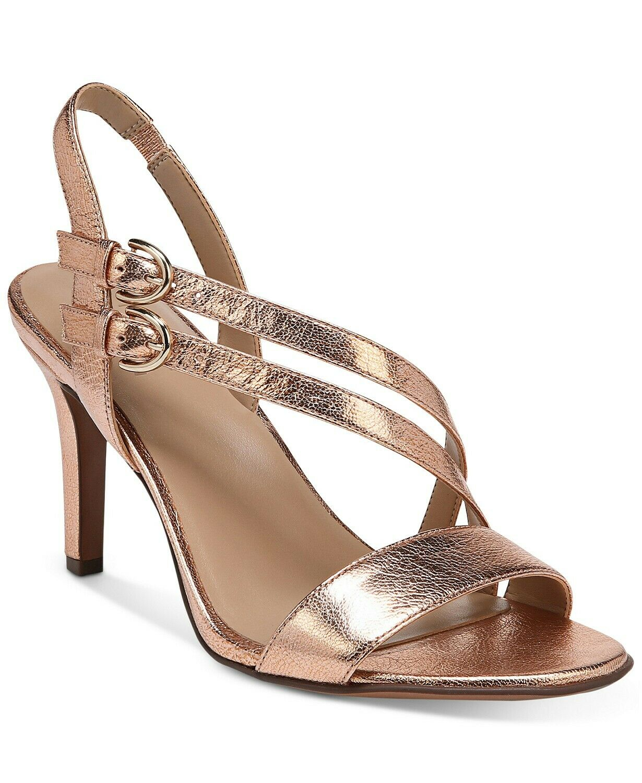 Naturalizer Kayla Dress Sandal High Heel Straps Straps Straps Cooper LEATHER Dimensione 6 W f905bc