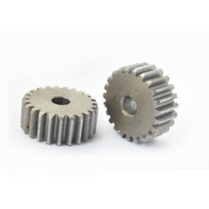 1Mod 100T 45# Steel Spur Motor Pinion Gear Outer Diameter 102mm Bore 12mm Qty 1