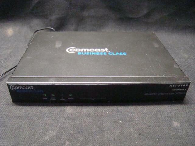 Netgear Cg3000dcr Advanced Cable Modem Gateway Comcast Business Class For Sale Online
