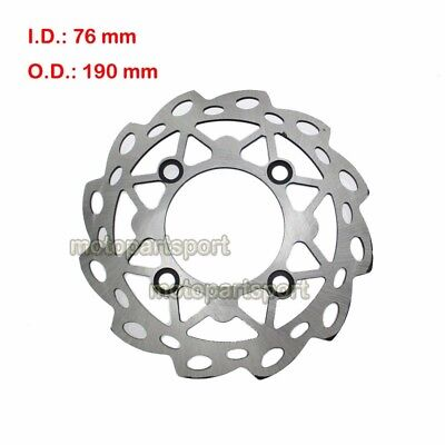220mm Front Brake Disc Rotor For 50 110 125 140 150 160 Chinese CRF50 Dirt Bikes