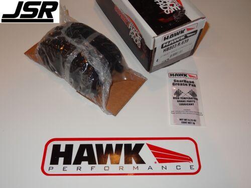 15-19 Mustang GT EcoBoost Rear Hawk High Performance Street HPS Race Brake Pads