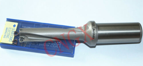 indexable drill //18mm-4D with+2PCS WCMX 030208 1P C25-4D18-75 WC03 U drill