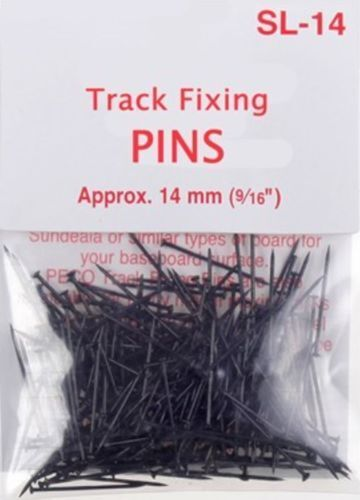 SL-14 Pins for fixing track and turnouts 7 gm (1/4oz) Peco Model Railways