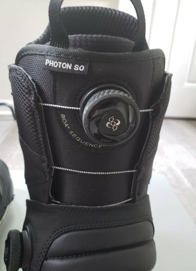 Men's Burton Step On Photon Boots Size 9 And  Medium Bindings  big discount prices
