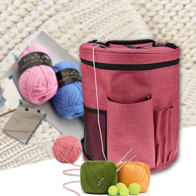 Canvas Knitting Tote Bag Crocheting Organizer Holder Storage Yarn Craft Case* 1