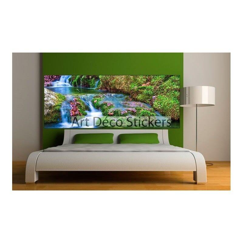 Pegatinas Cabeza de colcha decoración Ruisseau Cascade 9103