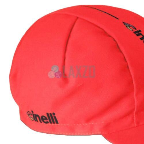 Cinelli Rider Collection Caleido Cotton Cycling Supercorsa Red Cap Columbus