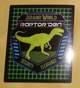 2020 Hybrid Jurassic World Panini Sticker 12