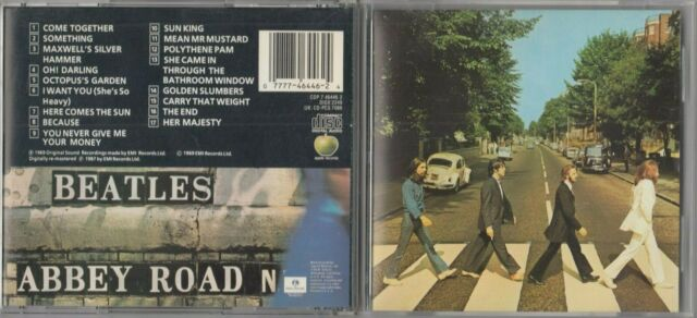 The Beatles - Abbey Road CD CAPITOL CDP 7464462