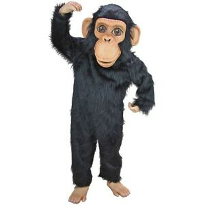 Details about Chimp Professional Quality Mascot Costume Adult Size